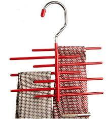 High Quality Coat Rack Tie rack 100frame Dip Non slip Metal necktie Storage rack high 29