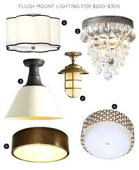 best lighting fixtures. The 30 Best Flush Mount Lighting Fixtures Making It Lovely Led Ceiling Light For 200 300 P