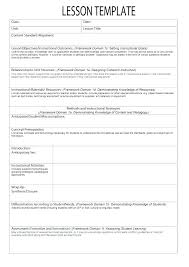 Middle School Lesson Plan Template Lovely Microsoft Word Lesson