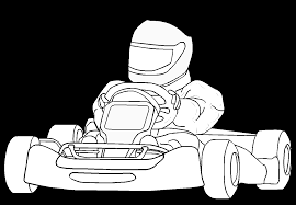 Coloriage Karting Coloriage Imprimer Ou Faire En Ligne Sur