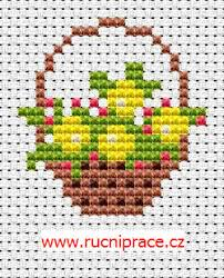 Cross Stitch Flower Patterns Unique Flower Basket Cross Stitch Free Pattern Flowers Free Cross