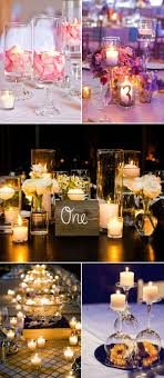 diy lighting for wedding. Creative Diy Wedding Centerpieces With Candles Lighting For C