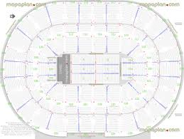 Palace Of Auburn Hills Detailed Seat Row Numbers End
