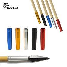 AMEYXGS <b>10 Pcs Archery</b> For 8mm Solid <b>Arrow Threaded Arrow</b> ...