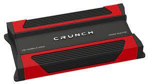 Crunch PZ-4020.4-PRO POWERZONE 4000 Watt Amplifier 4-Channel Car Audio Amp