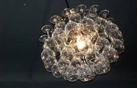 modern interior design medium size light bubble chandelier pelle best home decor ideas shell lift glass