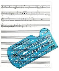 Music Staff Paper Template Enchanting Amazon Song Writer's Composing Template Stencil For Music Notes