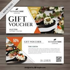 Food Voucher Template Best Meal Voucher Template Kordurmoorddinerco