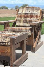 outdoor patio furniture makeover by the wood grain cottage