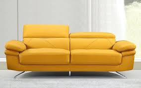 yellow leather couch image of single yellow leather sofa yellow leather sofa set