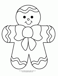 Small Picture Coloring Pages Gingerbread Man Coloring Pages Printable Coloring