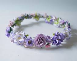 Paper Flower Headbands Paper Flower Crown Etsy