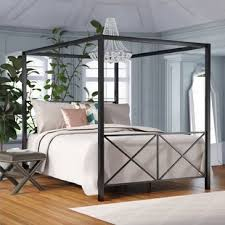 Campaign Canopy Bed | Wayfair