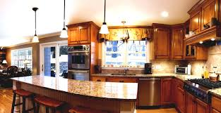Kitchen And Family Room Natural Elegant Design Of The Open Kitchen Family Room Ideas That