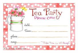 Tea Invitations Printable Tea Invitations Printable Rome Fontanacountryinn Com