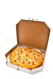 open pizza box with pizza. Perfect Open Fresh Pizza In Plain Open Box Isolated On White Background Light Shadow   Stock Photo Colourbox Throughout Open Pizza Box With S