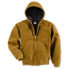 Regular Carhartt Quilted Flannel Lined Sandstone Active Jacket ... & Regular Carhartt Quilted Flannel Lined Sandstone Active Jacket, Brown Adamdwight.com