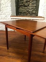 danish modern dining table mid century modern round dining table set