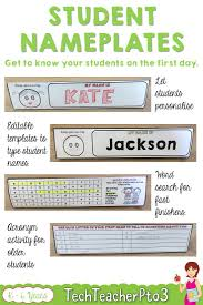 Nameplate Design For School Student Nameplates Primary School Curriculum First Day Of
