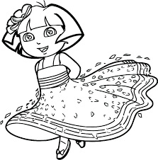 Free Coloring Pages Dora Printable Coloring Pages Coloring Pages
