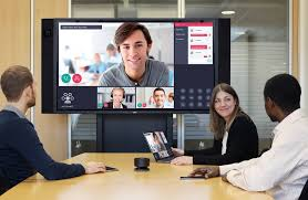 Video Conference Seas In Collaboration With Nec On A New Video Conference System