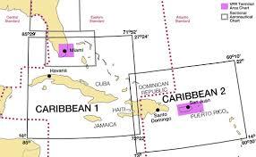Bahamas Vfr Chart Caribbean Vfr Aeronautical Charts