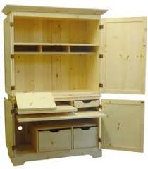 armoire office desk. kitchen desk unfinished mission style computer armoire with hutch office r