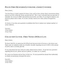 How To Write A Past Due Notice Collection Letter Template For Medical Office Comicbot Co