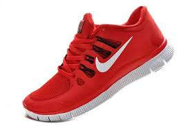 nike running shoes red and white. free shipping nike free 5.0+ men\u0027s running shoes - red white nike and