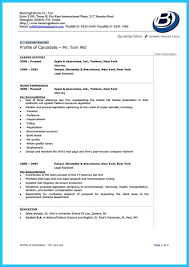 Attorney Resume Sample Template Resume For Law Students India Plks Tk