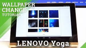 How to Change Wallpaper in LENOVO Yoga ...