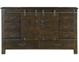Sliding Door Dresser by Magnussen Home