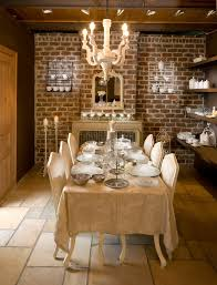 rustic dining room art. Rustic Dining Chairs Room Mediterranean With Art Lighting Candle Lantern. Image By: Ancient Surfaces D