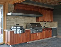 Building An Outdoor Kitchen Building An Outdoor Kitchen With Wood Outofhome