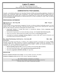 Most Interesting Effective Resume Samples 10 Sample Of An Format ...