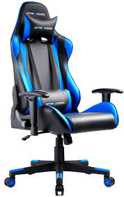 office recliner chairs. Amazon.com: GTRACING Ergonomic Office Chair Racing Backrest And Seat Height Adjustment Computer With Pillows Recliner Swivel Rocker Tilt Chairs C