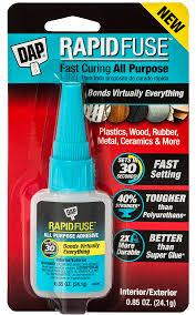rapidfuse all purpose adhesive bonds virtually everything
