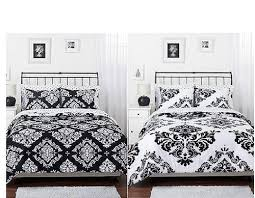 white and black bed sheets.  And Amazoncom Black White Damask Reversible Girls Teens Full Comforter Set  Home U0026 Kitchen For And Bed Sheets G