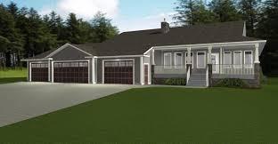 Home Plans With Three Car Garage. 3 Bedroom Floor ...