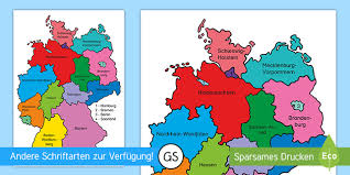 Maybe you would like to learn more about one of these? Deutsche Bundeslander Poster