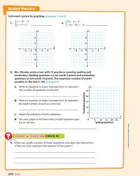 write an equation in slope intercept form to represent the number of questions on the