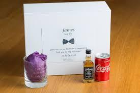 best man gift box groomsman personalised gift box the fab gift boutique uk