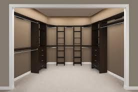 empty walk in closet. Impressions Walk-In Chocolate Bedroom 3 Empty | By ClosetMaid Empty Walk In Closet