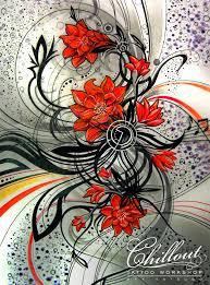 Art тату эскиз цветы Chillout Tattoo Workshop