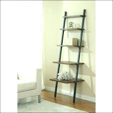 ladder display shelf step ladder shelves narrow shelf bookcase hwy leaning display lean step ladder shelving