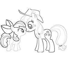 Small Picture My Little Pony Applejack Coloring Pages 2183 800667 Coloring