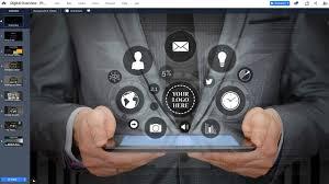 Digital Technology Presentation Template Prezibase