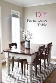 farm table dining room chairs. 30 ways diy farmhouse decor ideas can make your home unique farm table dining room chairs a