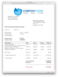 Professional Invoices AppleSource Software TimeNet Invoice Templates Time Tracking 14