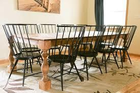 transform a basic contemporary dining set into a modern farmhouse dining set